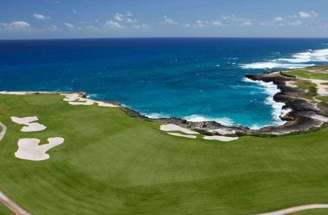 Golf punta blanca golf republique dominicaine punta cana - Prise republique dominicaine ...