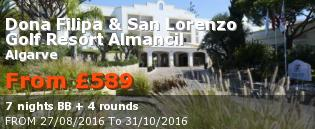 special offer Dona Filipa & San Lorenzo Golf Resort Almancil  Rest of Europe