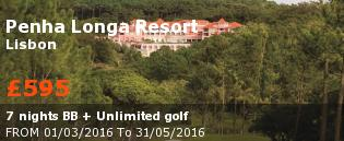 special offer Penha Longa Resort Rest of Europe