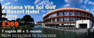 special offer Pestana Vila Sol Golf & Resort Hotel Rest of Europe