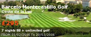special offer Barcelo Montecastillo Golf Rest of Europe