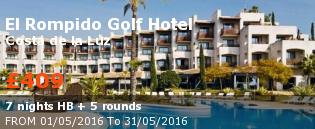 special offer El Rompido Golf Hotel Rest of Europe