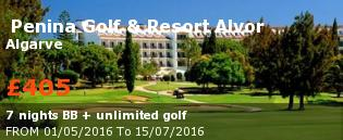 special offer  Penina Golf & Resort Alvor Rest of Europe