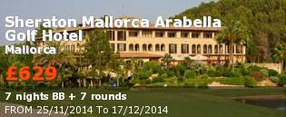 special offer Sheraton Mallorca Arabella Golf Hotel Rest of Europe