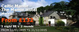 special offer Celtic Manor - The Manor Hotel United Kingdom