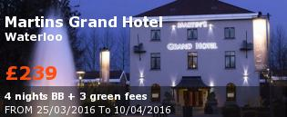 special offer Martins Grand Hotel Rest of Europe