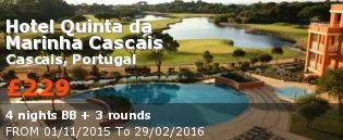 special offer Hotel Quinta da Marinha Cascais Rest of Europe