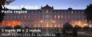 special offer Vidago Palace Rest of Europe