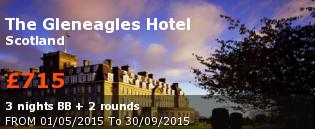 special offer The Gleneagles Hotel United Kingdom