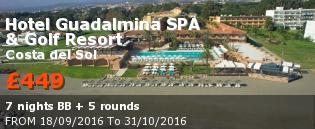special offer Hotel Guadalmina Rest of Europe