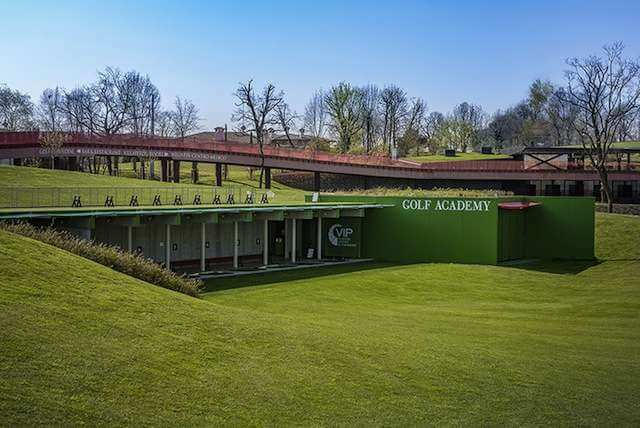 Club House du golf Villaverde