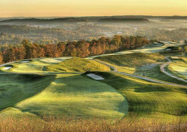 Etats-Unis : Golf Pete Dye