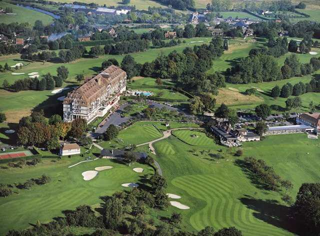 Golf En France  Golf Barri U00e8re De Deauville  Golf Normandie