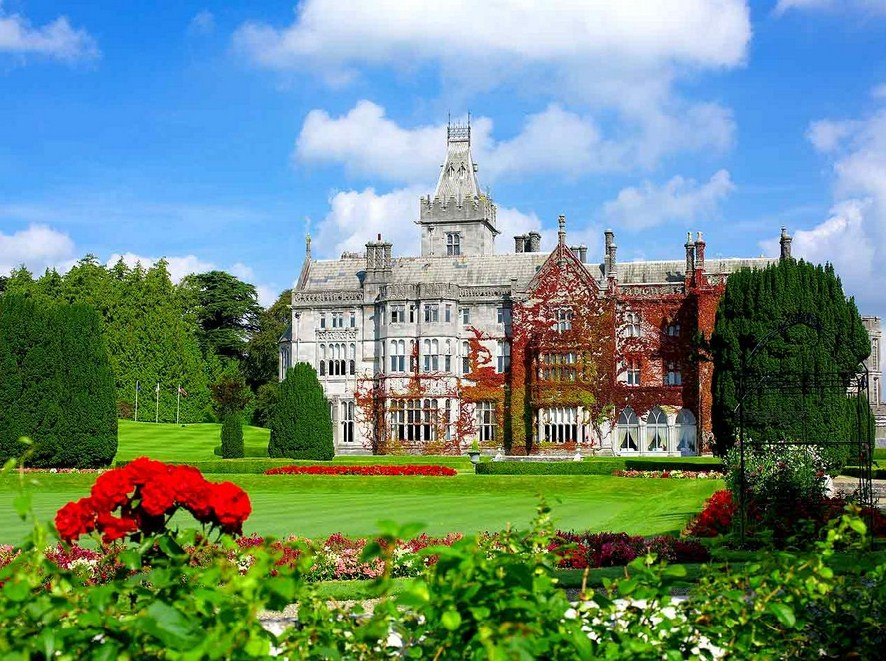 Top stunning castle hotels in ireland for Adare house